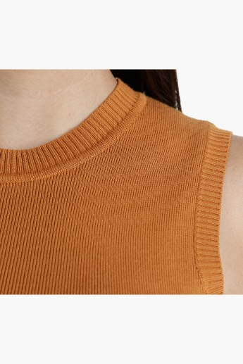 Knit Tank Top in Regular Fit