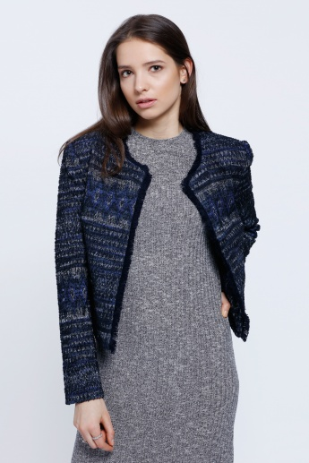 Tweed Chanel Jacket with Long Sleeves