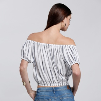 Off-Shoulder Balloon Top
