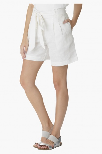 Elle Solid Colour Shorts