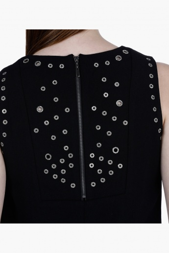 Elle Embellished Sleeveless Top