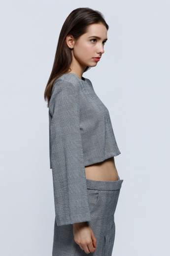 Elle Long Sleeves Crop Top