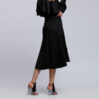 Elle Skirt with Front Slit