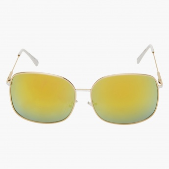 Gild-accented Aviator Sunglasses