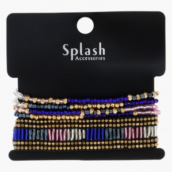 Beaded Stackable Bracelet Set