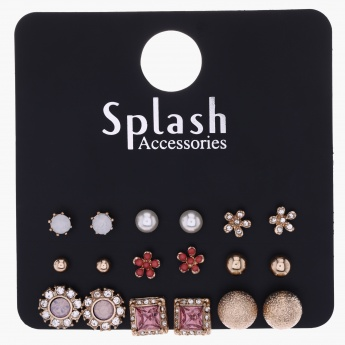 Assorted Earring - Set of 9