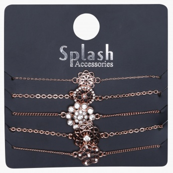 Studded Bracelet - Set of 5