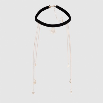 Choker Necklace with Lobster Clasp Closure