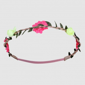 Floral Applique Headband