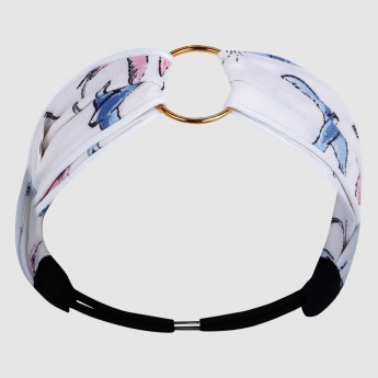 Printed Headbands with Elasticised Back Strap