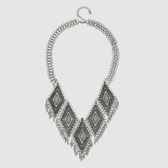 Tribal Necklace with Lobster Clasp