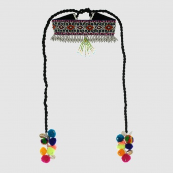 Choker Necklace with Tassels