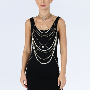 Multi Chain Body Necklace