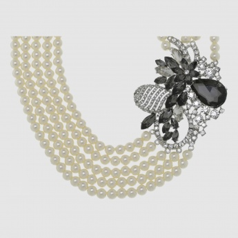 Pearl Choker Necklace with Lobster Clasp