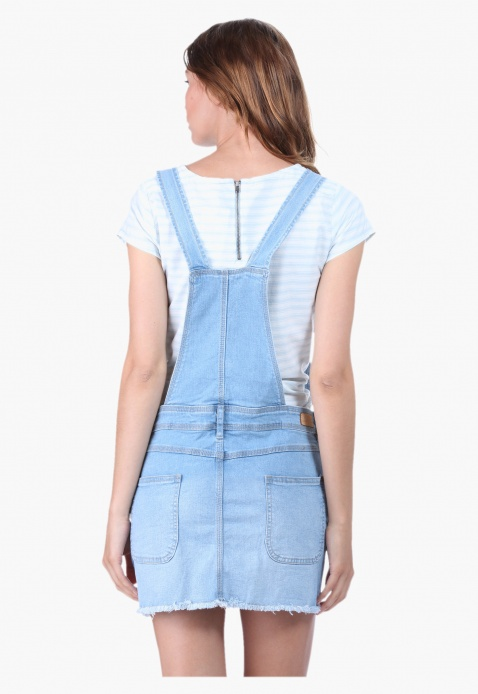 Pinafore Dungaree Skirt
