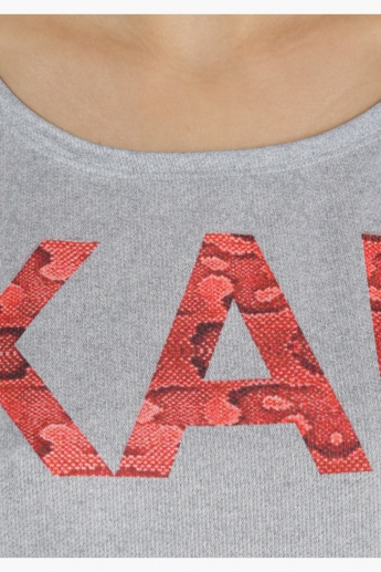 Kappa T-Shirt with Cap Sleeves