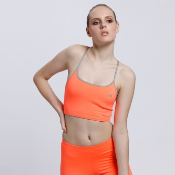 Kappa Sports Bra with Spaghetti Straps