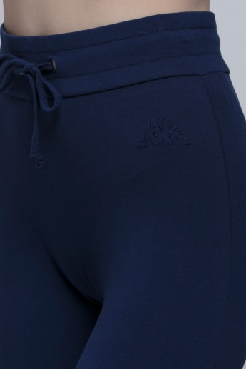 Kappa Full Length Jog Pants with Snug Fitted Cuffs