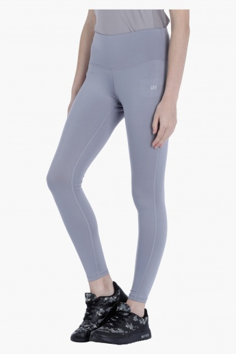 Casual Leggings with High Waistband in Regular Fit