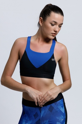 Regenerated Sports Bra with Racerback