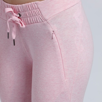 Full Length Jog Pants with Elasticised Waistband and Snug Fitted Cuffs