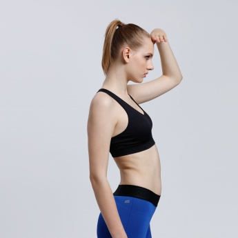 Sports Bra with Racer Back