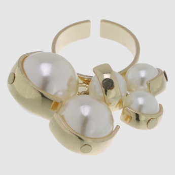 Pearl Studded Ring