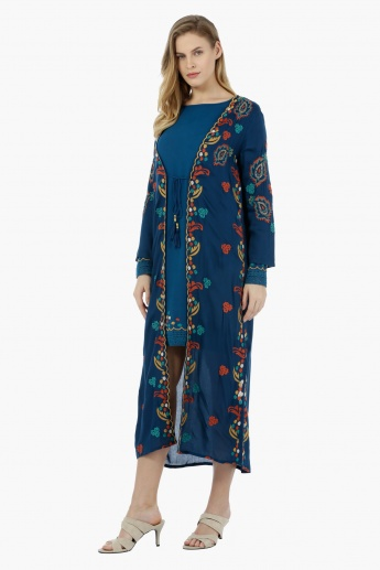 Full-sleeved Embroidered Outerwear