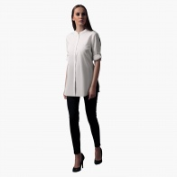 Shirt with 3/4th Sleeves in Regular Fit