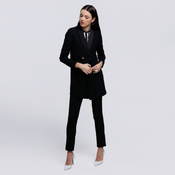 Long Sleeves Blazer with Button Closure