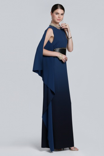 Sleeveless Maxi Dress with Side Slit