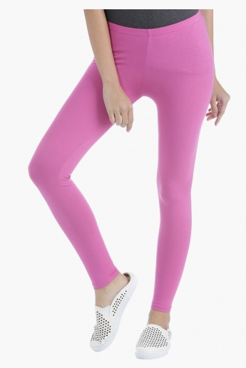 Basic Long Leggings in Regular Fit