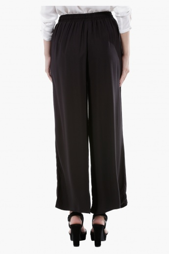 Basic Palazzo Pants in Regular Fit