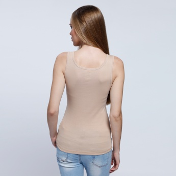 Sleeveless V-Neck Vest
