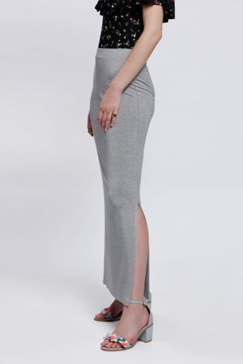 Full Length Skirt with Side Slit