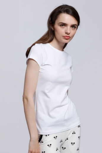 Short Sleeves Round Neck T-Shirt