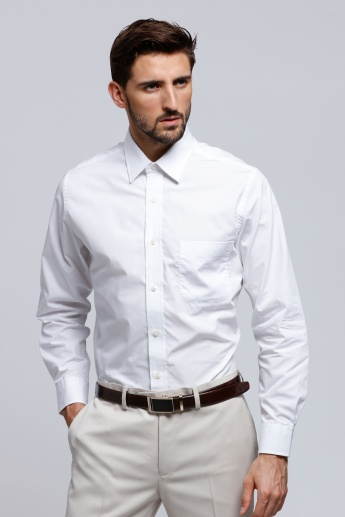 Arrow Long Sleeves Shirt with Front Pocket