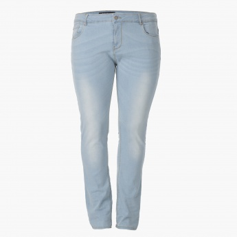 Plus Size Casual Denims