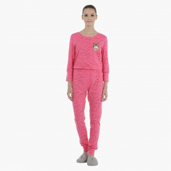 Daisy Duck Jumpsuit with Long Sleeves
