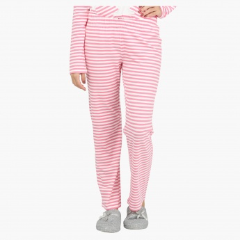 Striped Long Sleeves Pyjama Set