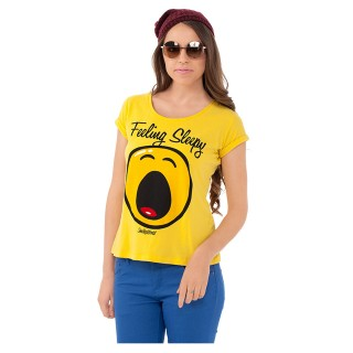 Smiley World Graphic Print T-shirt