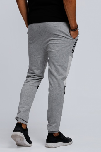 Smiley World Full Length Jog Pants with Ribbed Cuffs