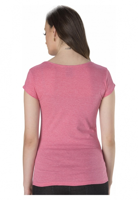 Barbie Printed Round Neck T-shirt