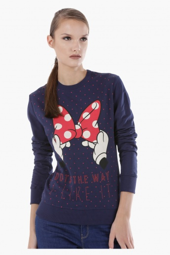 Knit T-Shirt in Regular Fit