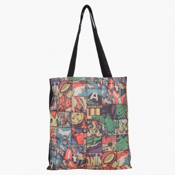 Avengers Printed Canvas Tote Bag