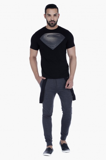 Batman Jog pants with Suspenders