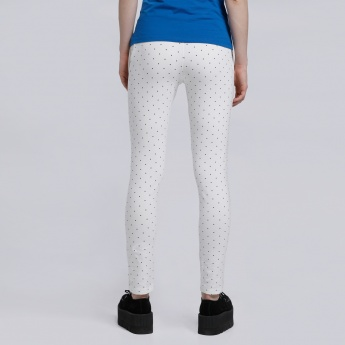 Minnie Mouse Polka Dots Full Length Pants
