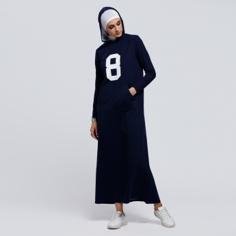 Long Sleeves Jilbab with Hood