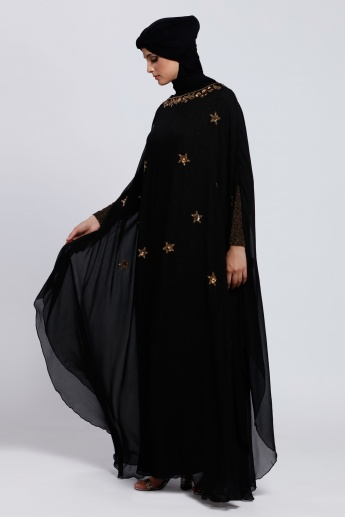 Embellished Maxi Cape